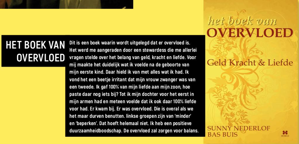 Boek van Overvloed- interview Ruud Kornstra